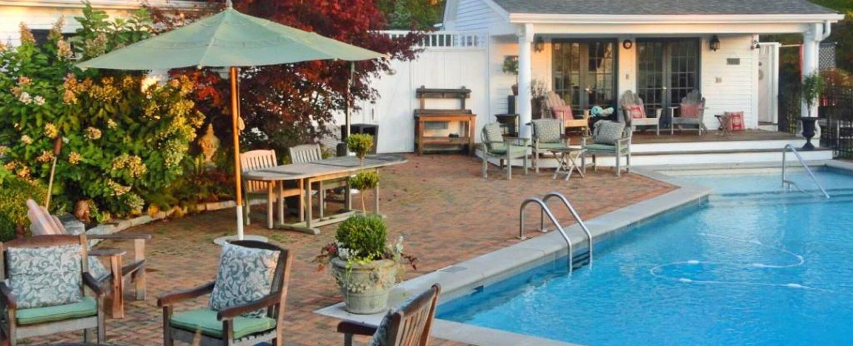 Pool in Early Fall