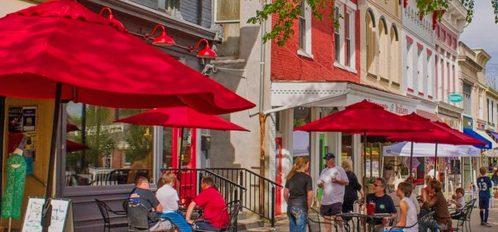 Granville Street Scene
