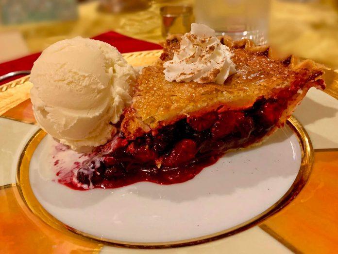 Home-Made Berry Pie