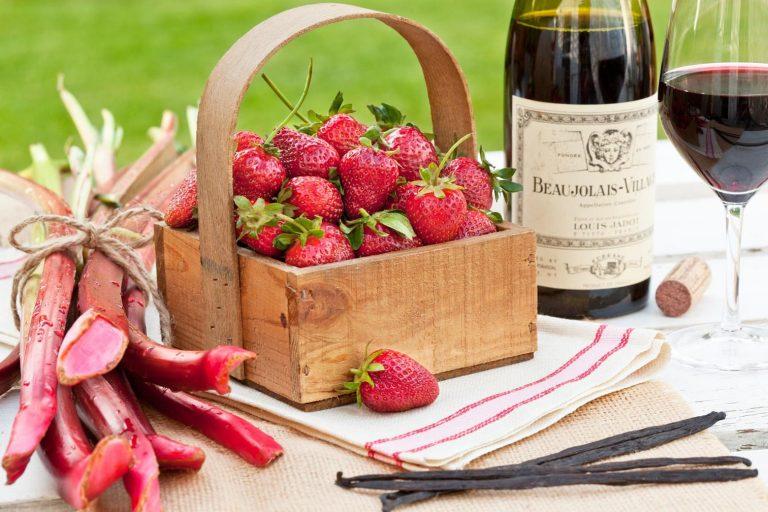 Billionaire Strawberry Rhubarb Preserves   The Welsh Hills Inn