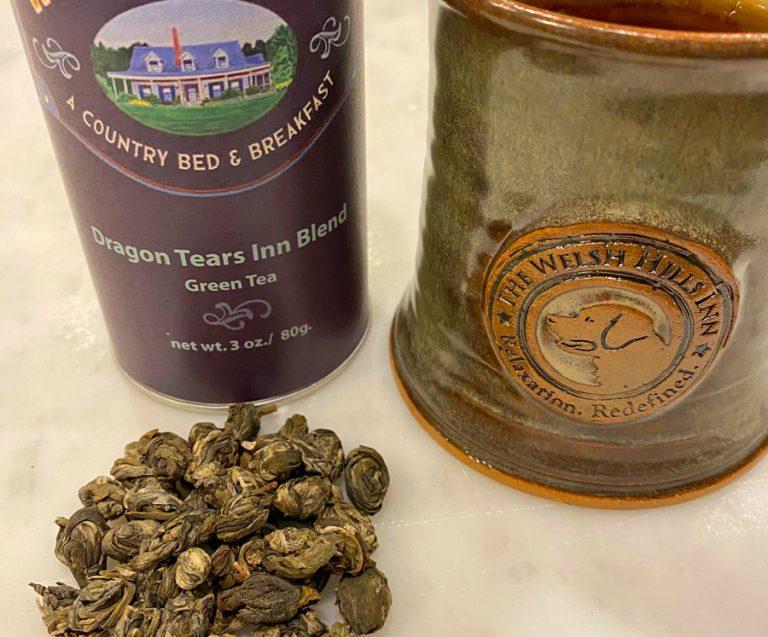 Dragon Tears Jasmine Green Tea | The Welsh Hills Inn