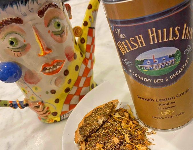 French Lemon Creme Roobios Tea   The Welsh Hills Inn
