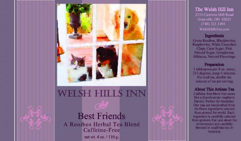 Best Friends Rooibos Herbal Tea Blend Label