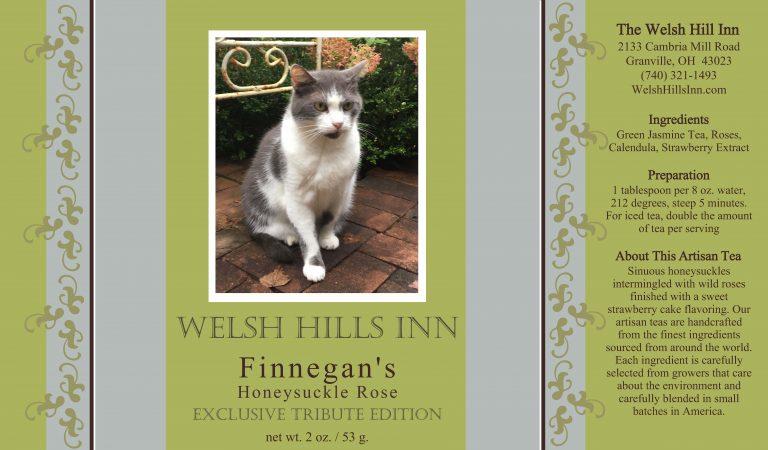 Finnegan's Honeysuckle Rose Tea   The Welsh Hills Inn