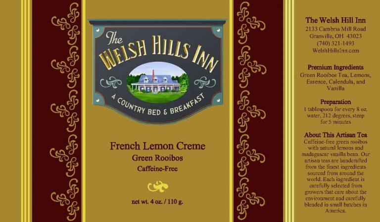 French Lemon Creme   The Welsh hills Inn