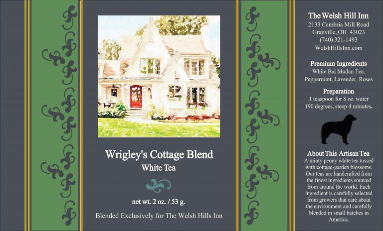 Wrigley's Cottage Blend White Tea   The Welsh Hills Inn