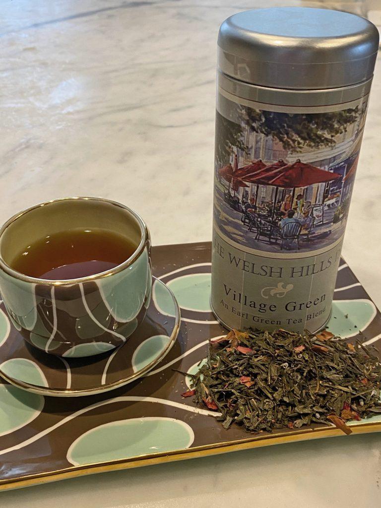 Village Green Tea | The Welsh Hills Inn