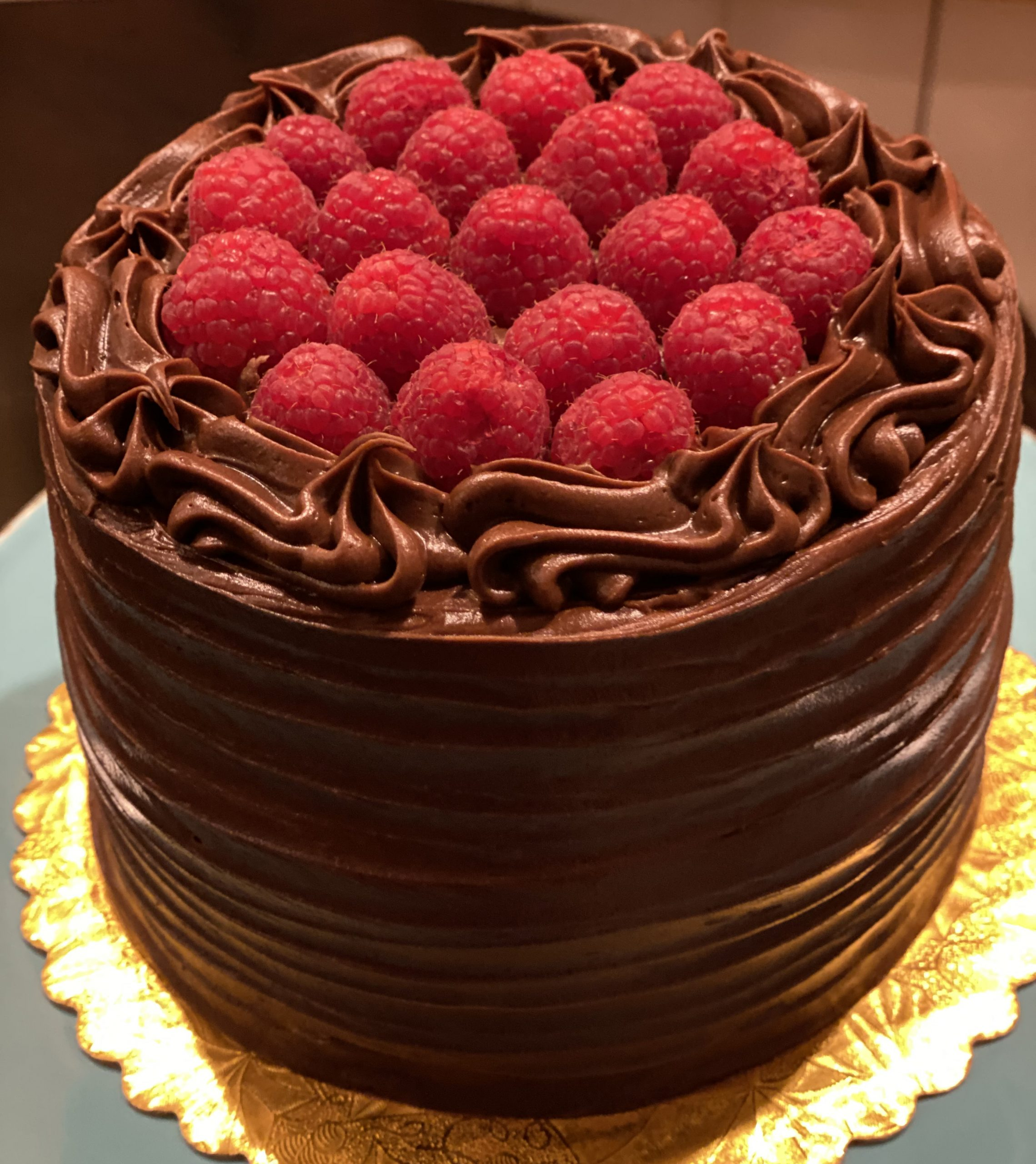 Double Chocolate Raspberry Cake | The Welsh Hills Inn | Historic Granville, Ohio