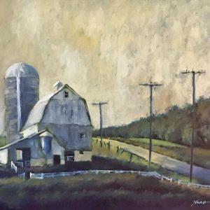 James Young - New York Barn | The Welsh Hills Inn