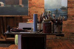 James Young Studio | Paints and Brushes | Granville Ohio