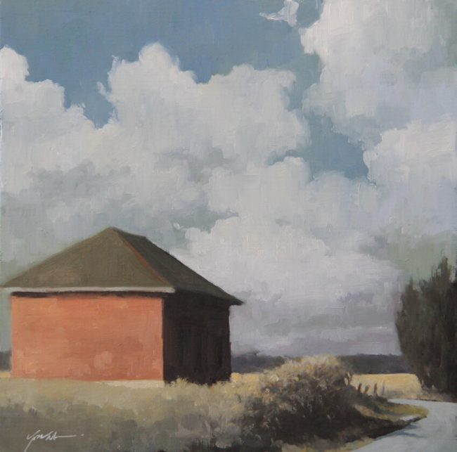 The Long Walk | by James Youn | The Welsh Hills Inng | Granville Ohio Artist
