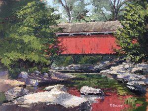 Robin Roberts | Everett Covered Bridge | The Welsh Hills Inn
