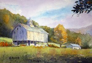 Robin Roberts | Flint Ridge History-Early Fall | The Welsh Hills Inn