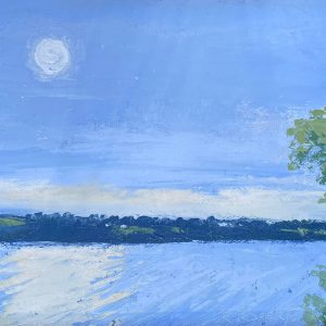 Morning Haze | by Robin Roberts | Ohio Artist | Plein Air Painting | The Welsh Hills Inn