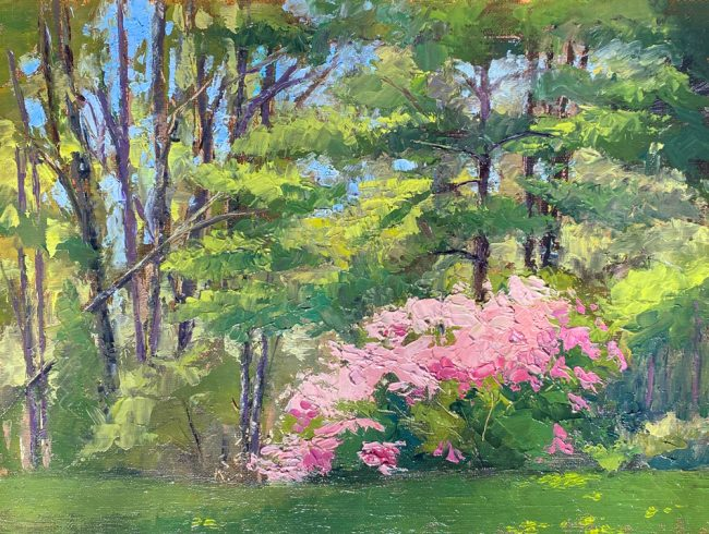 "Robin Roberts   ""Spring Bloom""   2020   The Welsh Hills Inn"