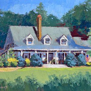 Robin Roberts | Ohio Plein Air Artist | 2019 | The Welsh Hills Inn