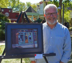 Robin Roberts | Award-Winning Painting | The Welsh Hills Inn